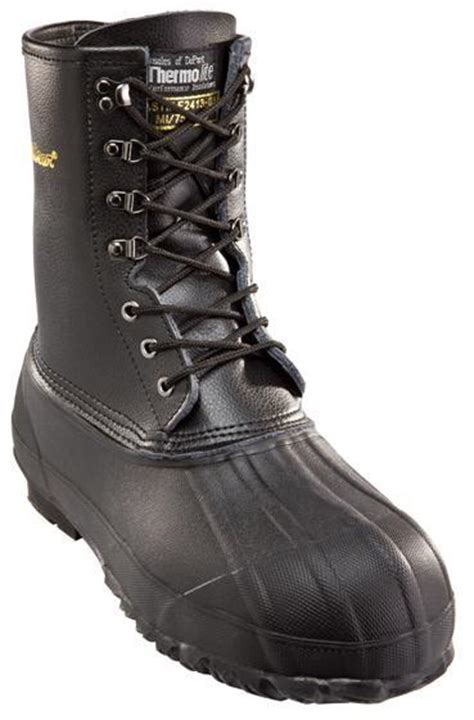 refrigiwear 105s insulated pac boots steel toe