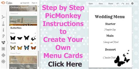 make your own menu cards cheap wedding reception food ideas for 10 per person