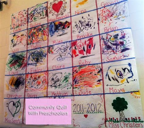 The Patchwork Quilt Lesson Plans - a classroom community quilt we will do this activity as a