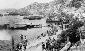 first world war: diary of a gallipoli soldier | world news