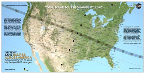 map us eclipse where to see the 2017 total solar eclipse state by state