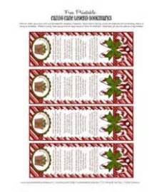 Candy cane meaning printable jesus candy cane christmas story