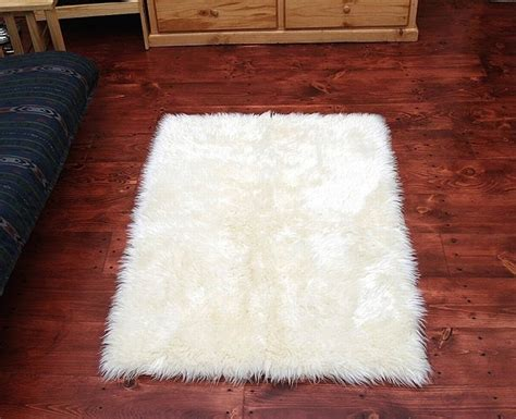 Fury Rugs by Faux Fur Area Rug White Fur Area Rug White White
