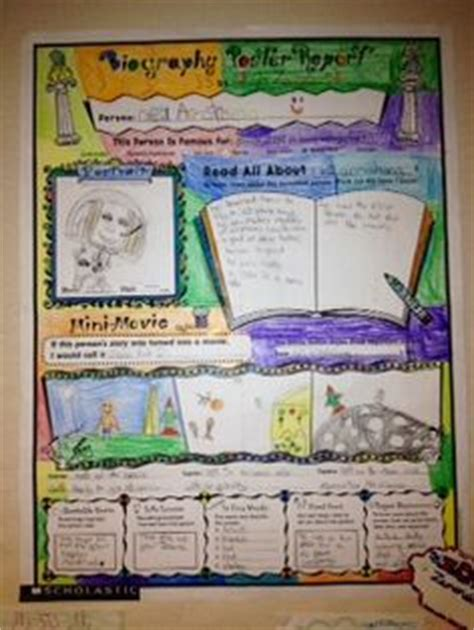 Biography Book Report Ideas For 3rd Grade by 1000 Images About Biography On Book Reports Biography Project And Graphic Organizers