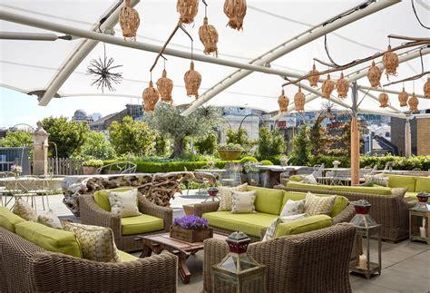 garten terrasse dach firmdale hotels roof terrace