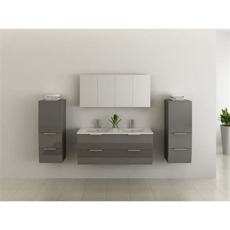 meuble salle de bain 219 4 tiroirs 120 46 50
