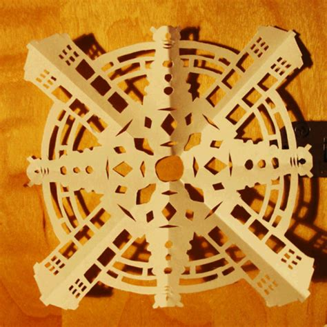 geeky snowflake patterns celebrate winter with six geeky cutout snowflake ideas