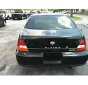1999 Nissan Altima GXE Mileage 150k Exterior Black