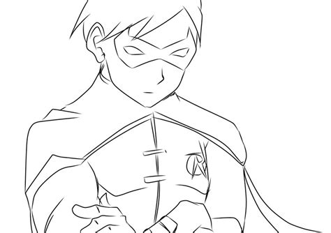 coloring pages young justice young justice robin coloring pages coloring pages