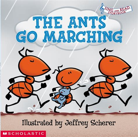 Go Go Counting Book 1 the ants go marching by scholastic