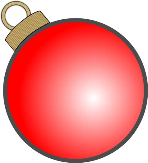 christmas ball ornament clip art at clker com vector