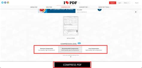 compress pdf extreme online how to reduce pdf size without losing quality for free