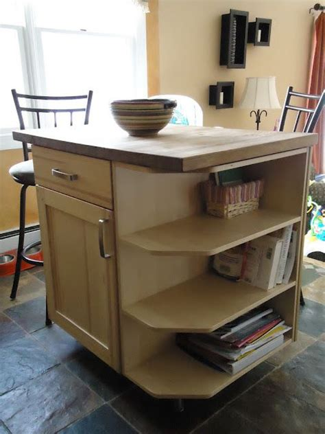 ikea kitchen island butcher block 5 ways to fake a kitchen island infarrantly creative