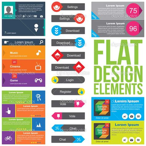 flat design is in 7 caracter 237 sticas del flat design estudio creativo