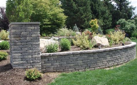 front yard retaining wall retaining wall construction professionals autumn leaf