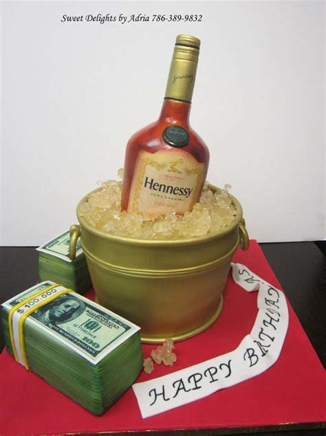 you to see hennessy cake by sweetdelight