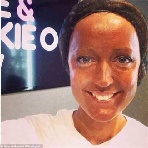 Jackie O jackie o henderson s tanning disaster daily mail