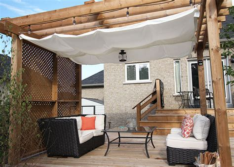 Diy Retractable Pergola Canopy Tutorial Wonder Forest Diy Pergola Canopy
