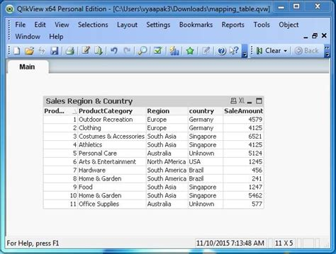 qlikview maps tutorial qlikview mapping tables