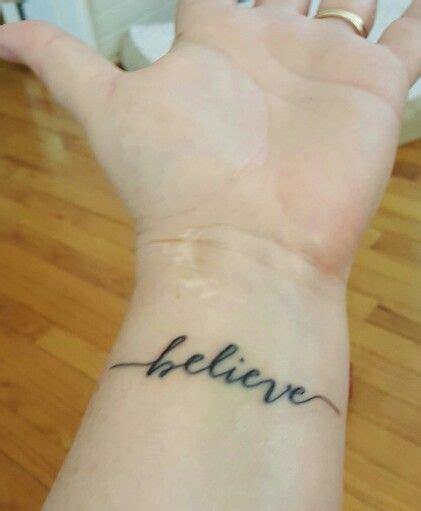 believe tattoo on hand the 25 best tattoo believe ideas on pinterest tatuagens