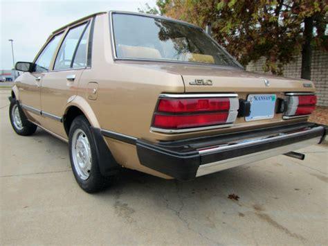 mazda full size sedan 1983 mazda glc sedan 4 door original low miles 59 204
