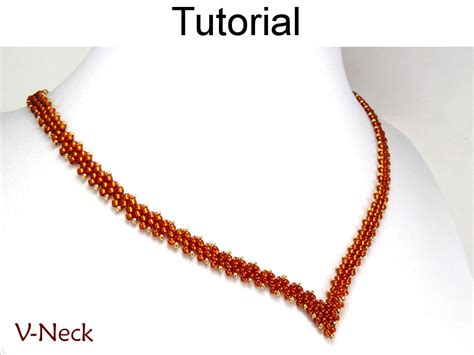 peyote beading tutorial beading tutorial necklace diagonal peyote sitch simple