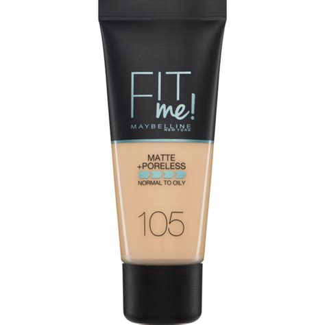 Maybelline Sale Fit Me Matte Poreless Foundation maybelline fit me matte and poreless foundation 30ml various shades free shipping