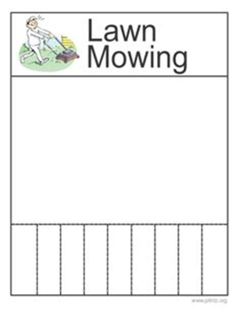 1000 Images About Landscape On Pinterest Flyers Lawn Fertilizer Schedule And Lawn Care Mowing Schedule Template