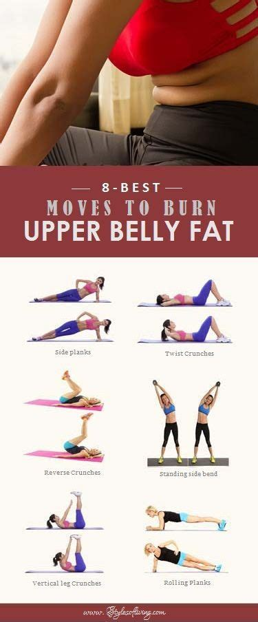 8 best to burn belly exercises belly burner workout belly workout