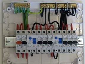 electrical distribution board wiring diagram for home