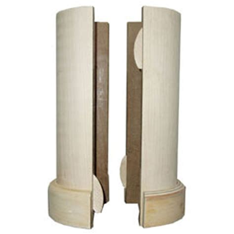 Decorative Pole Wraps by Madrid Inc Lc0608pg 5 1 2 Quot X 96 Quot Lally Column Cover With