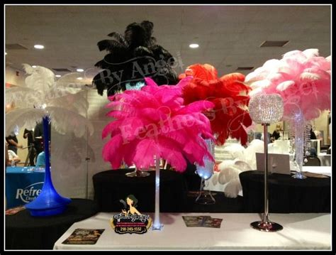 39 Best Wedding Ideas Images On Pinterest Ostrich Ostrich Feather Centerpieces For Rent