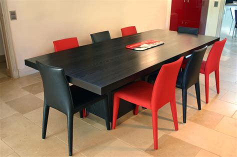 Charmant Cuisine Salon Salle A Manger #6: table-pied-central-frene-massif-inox.jpg