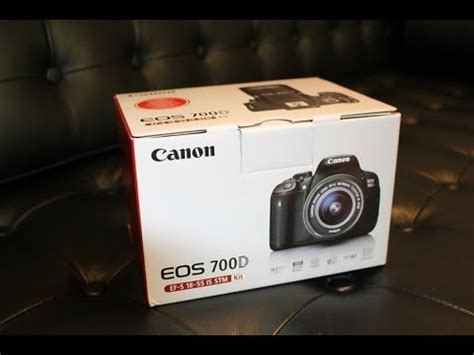 Canon Eos 700d Di Taiwan canon eos 700d t5i 18 55 is stm kit unboxing