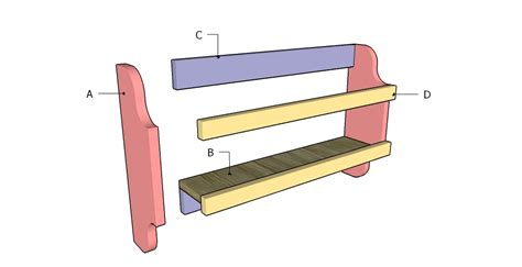 Magazine Rack Plans by Magazine Rack Plans Myoutdoorplans Free Woodworking