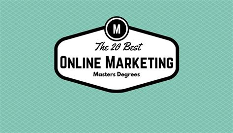 best marketing masters the 20 best masters in marketing degrees