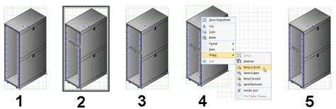 pdu visio stencil simulating 3d with isometric visio shapes visiozone