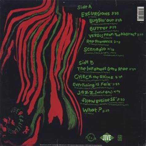 A Tribe Called Quest Low End Theory Hip Hop Rap S Black Size L a tribe called quest the low end theory lp jive 中古レコード通販 大阪 root records used hip hop