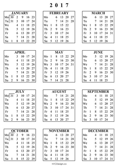 United Arab Emirates Uae Calendrier 2018 2017 Calendar Printable With Holidays Templates Usa