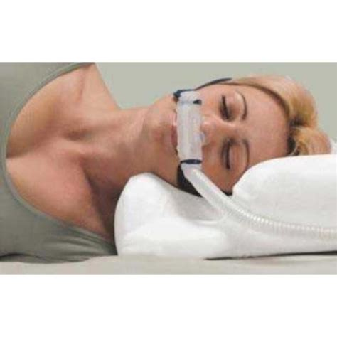 cpap bed pillow cpap com contour cpap pillow with pillow cover