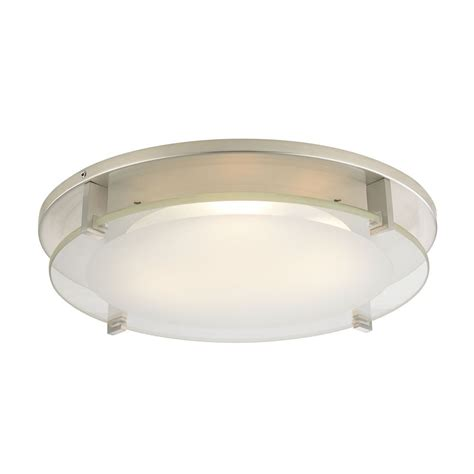 Recessed Ceiling Light Trim With Frosted Glass For 5 And 6 Inset Ceiling Lights