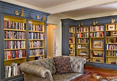 15 inspirational home libraries apartment geeks