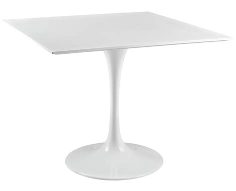 36 inch square table white tulip dining table with squre top and many top sizes