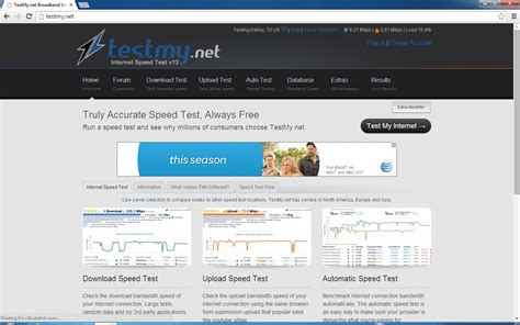 test my five html5 apps to your isp s speed page 6