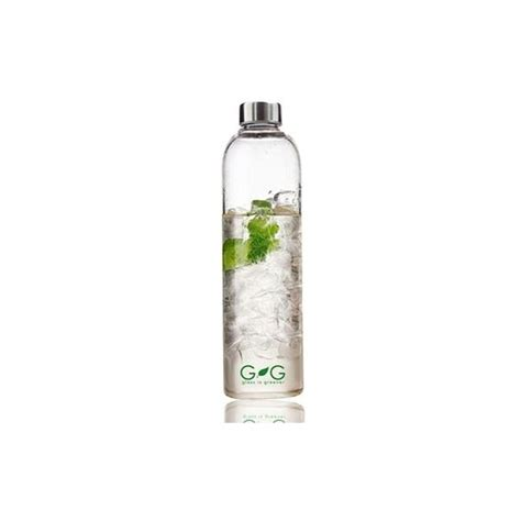 Glass Water Bottle bbbyo 750ml glass water bottle biome