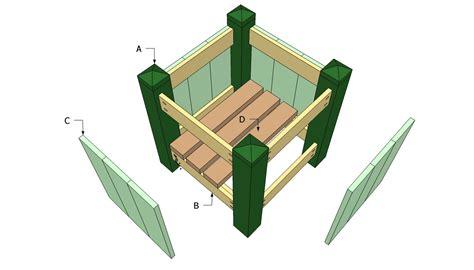 cedar planter box plans large planter plans  diy