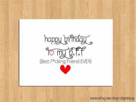 Birthday Card For Best Friend Funny Happy Birthday Cards For Best Friend