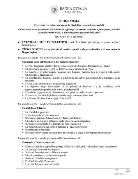 bando concorso d italia concorso 65 coadiutori d italia bando