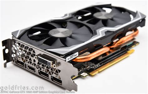 zotac geforce gtx 1060 edition graphics card review