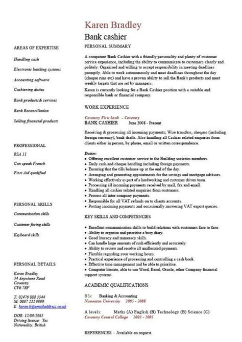 Cv Template Exles Writing A Cv Curriculum Vitae Templates Cv Tips Advice Resume Layout Template